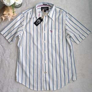 Other - Abercrombie & Fitch Striped Muscle Fit Shirt